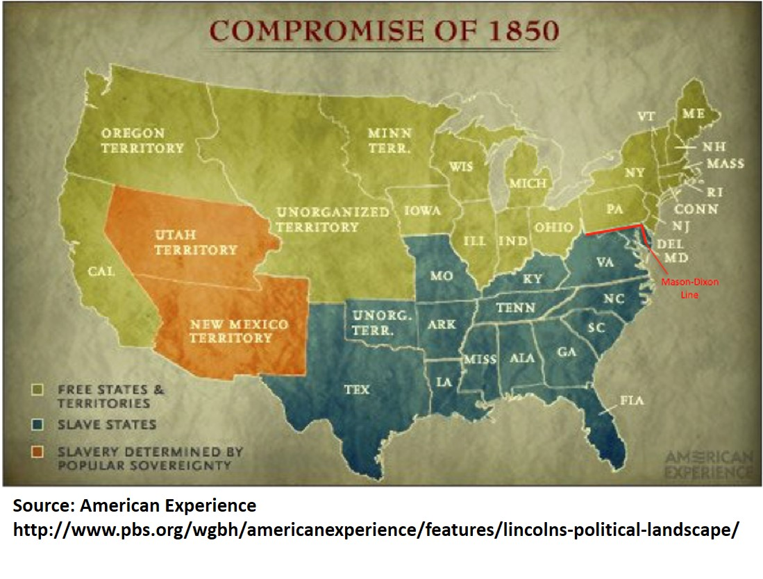 The Climate Divide And The Old MasonDixon Line Ray C Anderson - Us map with mason dixon line